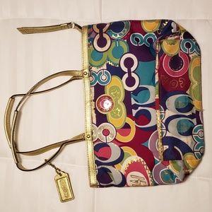 Coach Poppy Collection purse